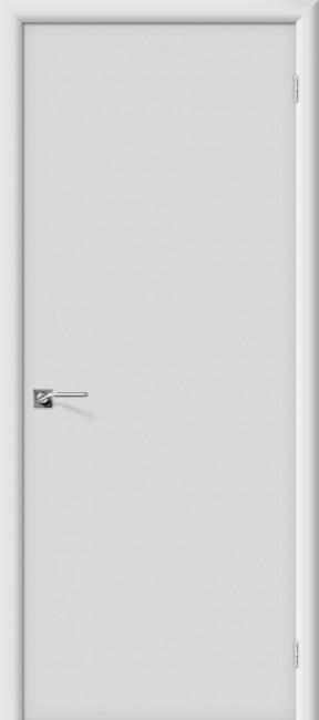 """Белая дверь """"Скинни-10"""", пг, белый"""