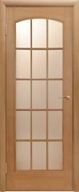 """Межкомнатная дверь """"Капри 3"""", поо, дуб светлый"""