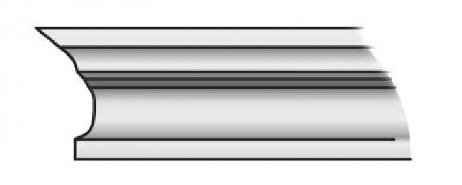 Фото -   Карниз Тип-3 60-90 см, сосна   | фото в интерьере