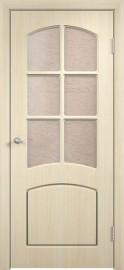 """Межкомнатная дверь ПВХ """"Кэролл"""", по, беленый дуб"""