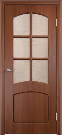 """Межкомнатная дверь ПВХ """"Кэролл"""", по, итальянский орех"""