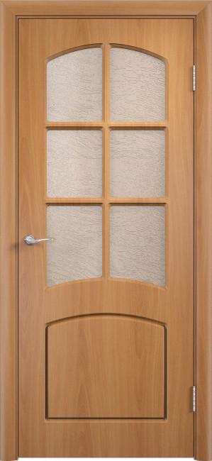 """Фото -   Межкомнатная дверь ПВХ """"Кэролл"""", по, миланский орех     фото в интерьере"""