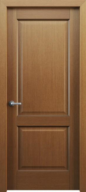 Фото -   Межкомнатная дверь Классик 102, пг, орех   | фото в интерьере