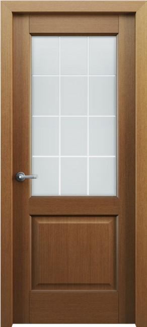 Фото -   Межкомнатная дверь Классик 102, по, орех   | фото в интерьере