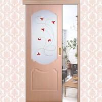 Двери цвета Клен серебристый