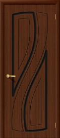 """Межкомнатная дверь """"Лагуна"""", пг, шоколад"""