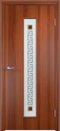"""Межкомнатная дверь """"Версаче"""", по, итальянский орех"""