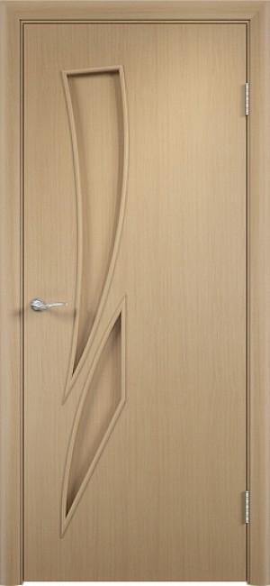 """Межкомнатная дверь """"Стрелиция"""", пг, беленый дуб"""