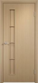 """Межкомнатная дверь """"Соло"""", пг, белный дуб"""