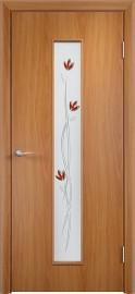 """Межкомнатная дверь """"Тифани"""", по, миланский орех"""