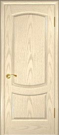"""Межкомнатная дверь """"Лаура 2"""", пг, слоновая кость"""