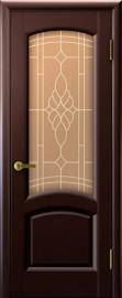 """Дверь межкомнатная """"Лаура"""", по, венге"""