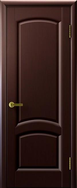 """Фото -   Межкомнатная дверь """"Лаура"""", пг, венге     фото в интерьере"""