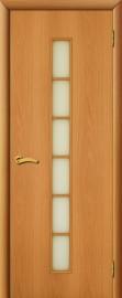 """Межкомнатная дверь """"Лесенка"""", по, миланский орех"""
