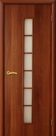"""Межкомнатная дверь """"Лесенка"""", по, итальянский орех"""