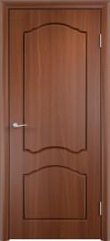 """Межкомнатная дверь ПВХ """"Лилия"""", пг, итальянский орех"""
