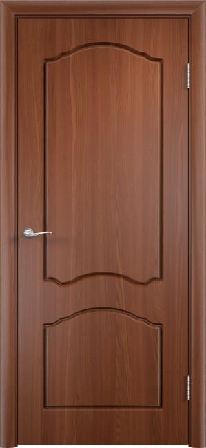 """Фото -   Межкомнатная дверь ПВХ """"Лидия"""", пг, итальянский орех     фото в интерьере"""