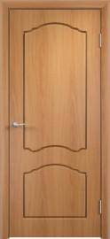 """Межкомнатная дверь ПВХ  """"Лилия"""", пг, миланский орех"""