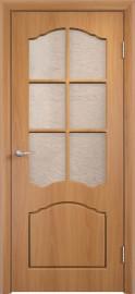 """Межкомнатная дверь ПВХ """"Лилия"""", по, миланский орех"""