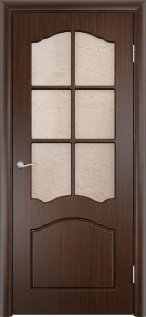 """Фото -   Межкомнатная дверь ПВХ """"Лидия"""", по, венге     фото в интерьере"""