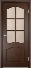 """Межкомнатная дверь ПВХ """"Лилия"""", по, венге"""