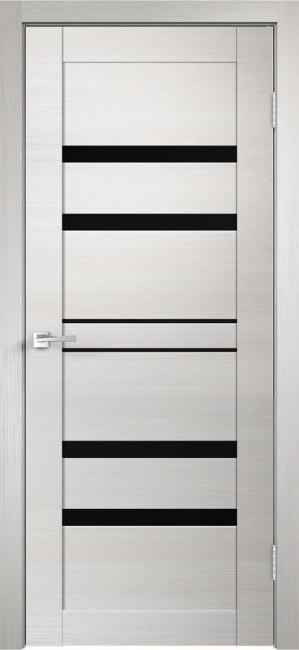 """Фото -   Межкомнатная дверь """"Linea 6"""", по, дуб белый поперечный     фото в интерьере"""