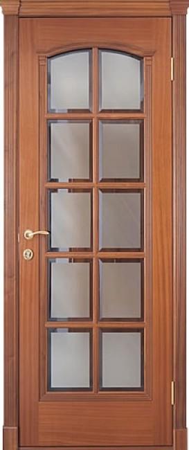 """Межкомнатная дверь """"Master 595"""", по, красное дерево"""