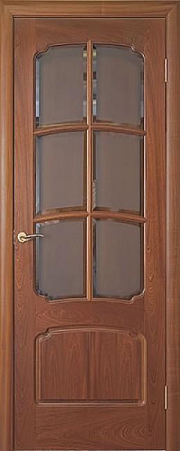 """Фото -   Межкомнатная дверь """"Luvistil 737"""", по, красное дерево     фото в интерьере"""