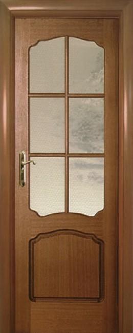 "Межкомнатная дверь ""Luvistil 780"", по, красное дерево"