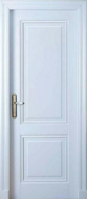 "Межкомнатная дверь ""ISLAS Мальта"", пг, белая"
