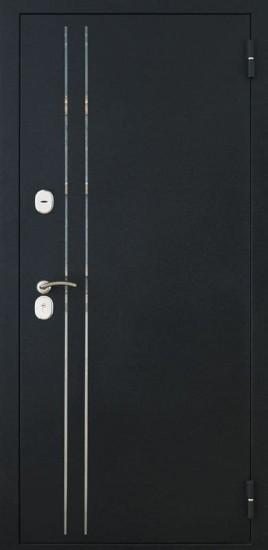 Фото -   Металлическая дверь Luxor-37     фото в интерьере