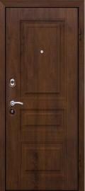 Стальная дверь М-9, орех