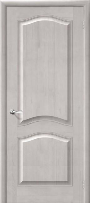 Фото -   Межкомнатная дверь М 7, пг, белый воск   | фото в интерьере