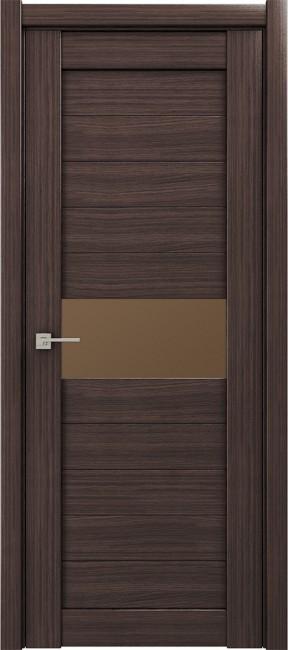 """Фото -   Межкомнатная дверь """"M 5"""", орех серый     фото в интерьере"""