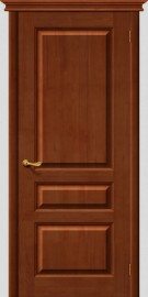 Межкомнатная дверь М 5, пг, светлый лак