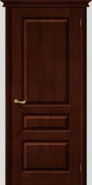Межкомнатная дверь М 5, пг, темный лак