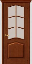 Межкомнатная дверь М 7, по, светлый лак
