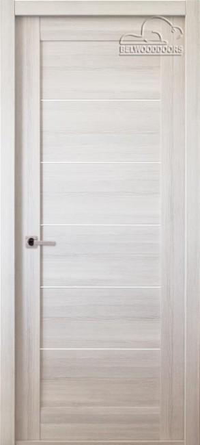"""Фото -   Межкомнатная дверь """"Мирелла"""", пг, ясень скандинавский     фото в интерьере"""