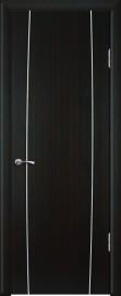 """Межкомнатная дверь """"Модерн"""", пг, венге полосатый"""