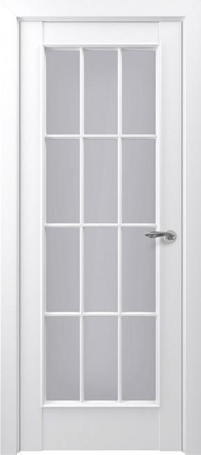 """Фото -   Межкомнатная дверь """"Неаполь"""", по, белый     фото в интерьере"""