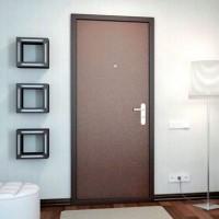 Недорогие металлические двери