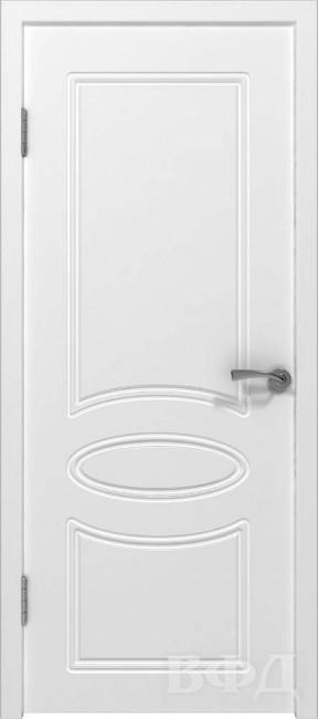 "Межкомнатная дверь ""Олимп"", пг, белый"