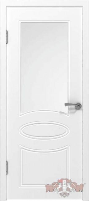 """Межкомнатная дверь """"Олимп"""", по, белый"""