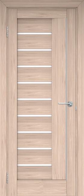 """Фото -   Межкомнатная дверь """"Палермо"""", по, капучино     фото в интерьере"""