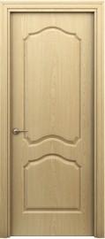 """Межкомнатная дверь """"Палитра 62-4"""", пг, дуб светлый"""