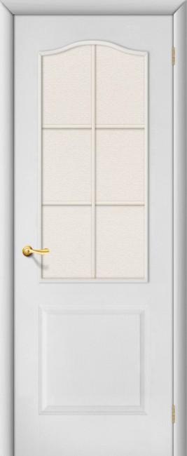 """Белая дверь """"Палитра"""", по"""