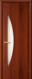 """Межкомнатная дверь """"Парус"""", по, итальянский орех"""