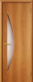 """Межкомнатная дверь """"Парус"""", по, миланский орех"""