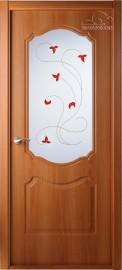 """Межкомнатная дверь """"Перфекта"""", по, рис.14, миланский орех"""