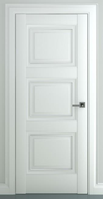 Межкомнатная дверь Гранд В1, пг, матовый белый